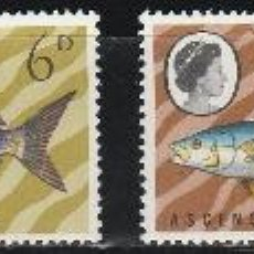 Sellos: ASCENSION ISLANDS. SERIE. IVERT # 119-2 **.MNH.(16-389). Lote 47617091