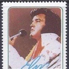 Sellos: SELLO DEL FAMOSO ACTOR Y MUSICO ELVIS PRESLEY - EL REY DEL ROCK AND ROLL. Lote 48495220