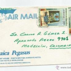 Sellos: 1980 - CARTA COMERCIAL - JAMAICA. Lote 49522438