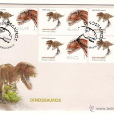 Stamps - Portugal & FDC, Dinossauros 2015 (2) - 49711677