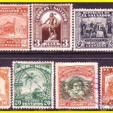 Sellos - SALVADOR 1924 IVERT nº 449 a 457 (o) - 50553711