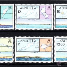 Sellos: ANGUILLA 328/33** - AÑO 1979 - ISLAS DE ANGUILLA . Lote 50952703