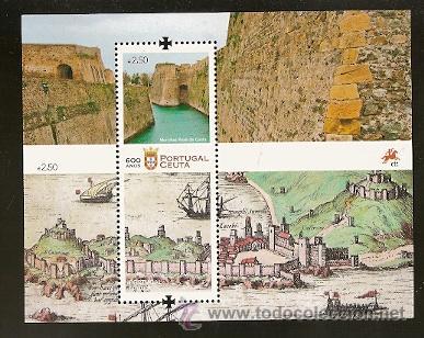 PORTUGAL ** & 600 ANOS DE CEUTA 2015 (6) (Sellos - Temáticas - Varias)