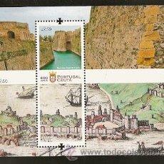 Sellos: PORTUGAL ** & 600 ANOS DE CEUTA 2015 (6). Lote 52347920