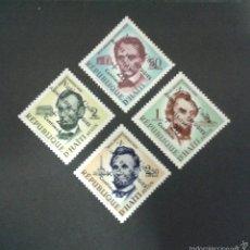 Sellos: SELLOS DE HAITÍ. LINCOLN. YVERT 419 + A 170/2. SERIE COMPLETA NUEVA SIN CHARNELA. SOBRECARGADOS. Lote 53192786