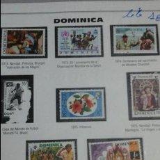 Sellos: LOTE SELLOS ORIGINALES DOMINICA . Lote 53545659