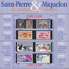 Sellos: ST PIERRE & MIQUELON 1999 YVERT BF-6** PHILEXFRANCE 99. Lote 53554858
