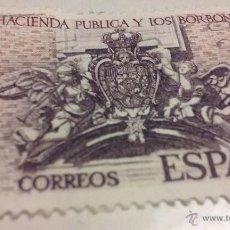 Sellos: SELLO LA HACIENDA PÚBLICA Y LOS BORBONES DE 8 PTAS - FNMT 1980. Lote 53907983