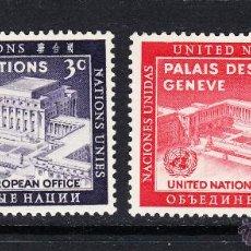 Sellos: NACIONES UNIDAS NEW YORK 25/26** - AÑO 1954 - DIA DE NACIONES UNIDAS. Lote 54049706