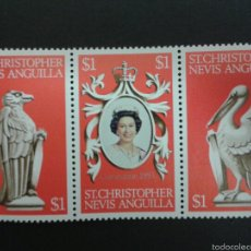 Sellos: SELLOS DE ST. CHRISTOPHER NEVIS ANGUILLA. YVERT 376/8. SERIE COMPLETA NUEVA SIN CHARNELA.. Lote 54549304