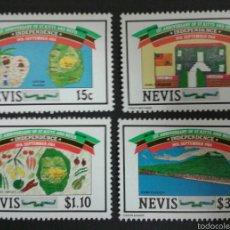 Sellos: SELLOS DE NEVIS. YVERT 201/04. SERIE COMPLETA NUEVA SIN CHARNELA. . Lote 54568419