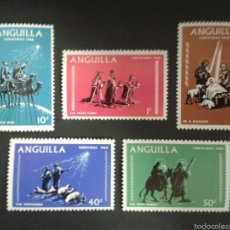 Sellos: SELLOS DE ISLA ANGUILLA. YVERT 28/32. SERIE COMPLETA NUEVA SIN CHARNELA.. Lote 54938459