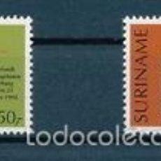 Sellos: SURINAM 1994 IVERT 1335/6 *** EXPOSICIÓN FILATÉLICA INTERNACIONAL EN LA HAYA - FEPAPOST-94. Lote 57106722