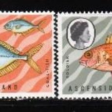 Sellos: ASCENSION ISLANDS 1970 (16-391) SERIE: PECES. **.MNH. Lote 57114843