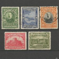 Timbres: HAITI YVERT NUM. 253/257 SERIE COMPLETA USADA. Lote 57822959