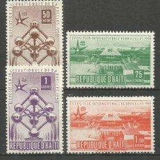Sellos: HAITI YVERT NUM. 374/377 ** SERIE COMPLETA SIN FIJASELLOS. Lote 57830103