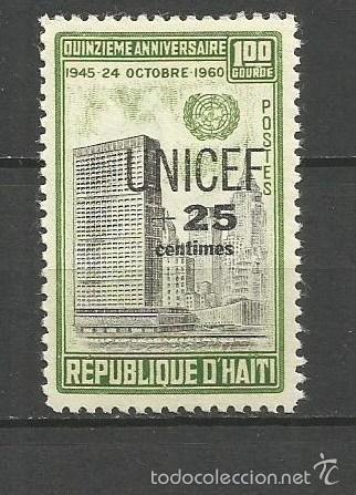 HAITI YVERT NUM. 457 ** SERIE COMPLETA SIN FIJASELLOS (Sellos - Extranjero - América - Otros paises)