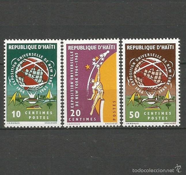 HAITI YVERT NUM. 526/528 ** SERIE COMPLETA SIN FIJASELLOS (Sellos - Extranjero - América - Otros paises)