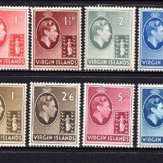 Sellos: VIRGENES 74/85* - AÑO 1938 - JORGE VI Y SANTA URSULA. Lote 58163395