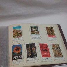 Sellos: 49 VIÑETAS TIPO SELLO PUBLICACIONES DEL MINISTERIO DE INFORMACIÓN Y TURISMO AÑO 1968 . Lote 58352273
