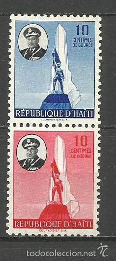 HAITI YVERT NUM. 362/363 ** SERIE COMPLETA SIN FIJASELLOS (Sellos - Extranjero - América - Otros paises)