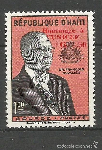 HAITI YVERT NUM. 429 * SERIE COMPLETA CON FIJASELLOS (Sellos - Extranjero - América - Otros paises)