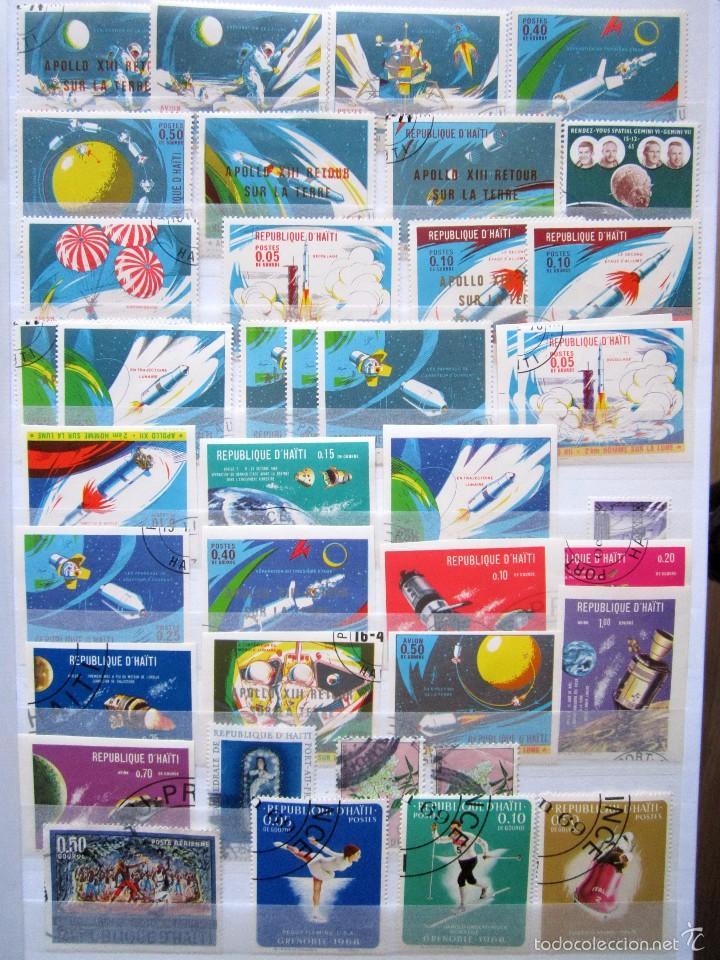 Sellos: 89 SELLOS usados HAITI - Foto 2 - 58508912