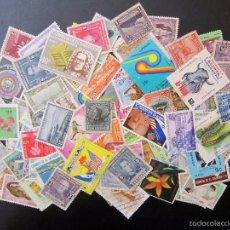 Sellos: 101 SELLOS USADOS EL SALVADOR. Lote 58725398