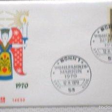 Sellos: ALEMANIA 1970 SOBRE PRIMER DIA DE CIRCULACION TEMÁTICA NAVIDAD- CHRISTMAS- FDC . Lote 59842332