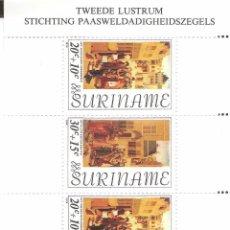 Sellos: SURINAM,1976,HOJITA.. Lote 62692500