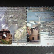 Sellos: SELLOS DE PANAMÁ. YVERT 1216/7. SERIE COMPLETA NUEVA SIN CHARNELA. AMÉRICA UPAEP.. Lote 63275096