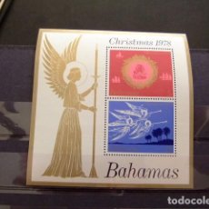 Sellos: BAHAMAS 1978 NOEL NAVIDAD (ANGELES) CHRISTMAS YVERT Nº BLOCK 25 ** SG Nº MS 534 MNH. Lote 63701547