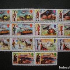 Sellos: BARBUDA 1974 IVERT 147/60 *** CENTENARIO DE LA UNIÓN POSTAL UNIVERSAL (I) - U.P.U.. Lote 66234142