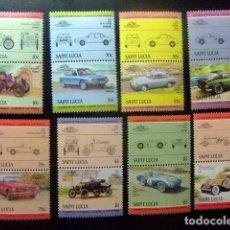 Sellos: SAINTE-LUCIA ST LUCIA 1984 AUTOMOBILES COCHES II YVERT Nº 684 / 699 ** MNH . Lote 73963583