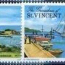 Sellos: GRANADINAS DE SAN VICENTE 1975 IVERT 65/8 * TURISMO - VISTAS Y PAISAJES DE LA ISLA DE SAN VICENTE. Lote 77307241