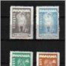 Sellos: BOY SCOUTS, EN PANAMÁ, SELLOS AÑO 1964. Lote 86306320