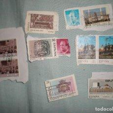 Sellos: 11 SELLOS ANTIGUOS ESPAÑA CON MATASELLOS. Lote 82172432