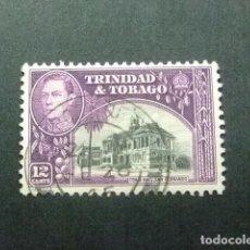 Sellos: TRINIDAD & TOBAGO TRINITE ET TOBAGO 1938 - 44 - HÔTEL DE VILLE - GEORGE V - YVERT 144 º FU. Lote 83191292