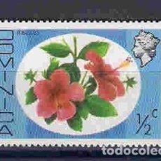 Sellos: FLORES DE DOMINICA. SELLO AÑO 1975. Lote 83779892