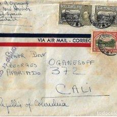 Sellos: TRINIDAD Y TOBAGO 1942 CARTA VOLADA CON MARCAS DE CENSURA ENVIADA DESDE PORT OF SPAIN . Lote 86444496