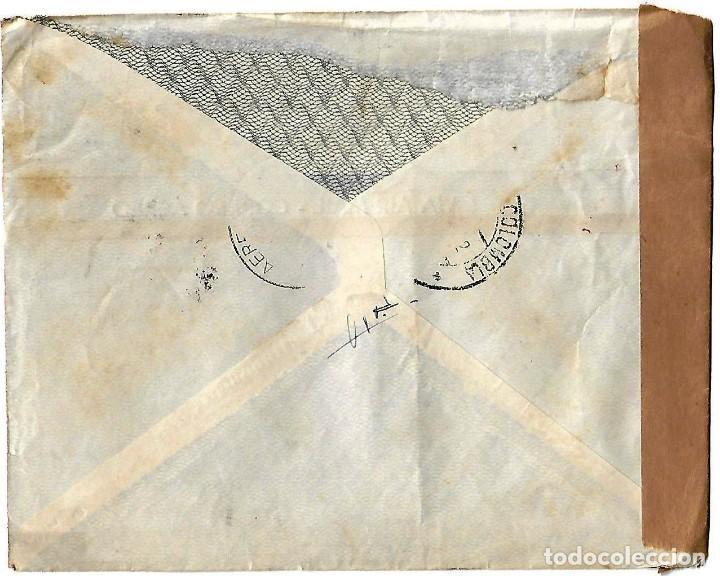 Sellos: TRINIDAD Y TOBAGO 1942 CARTA VOLADA CON MARCAS DE CENSURA ENVIADA DESDE PORT OF SPAIN - Foto 2 - 86444496