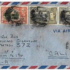 Sellos: TRINIDAD Y TOBAGO 1942. CARTA VOLADA CON MARCAS DE CENSURA Y LA CRUZ DE LORENA . Lote 86444612