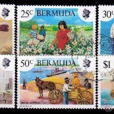 Sellos: BERMUDA 1980 SERIE: SEMANA DEL PATRIMONIO. *.MH(16-156 ). Lote 88257276