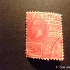 Sellos: GUYANE BRITANNIQUE 1913 - 17 GEORGE V YVERT 114 FU. Lote 89511648