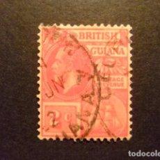 Sellos: GUYANE BRITANNIQUE 1913 - 17 GEORGE V YVERT 127 FU. Lote 89511948