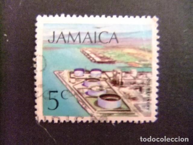 JAMAICA 1972 SERIE CORRIENTE YVERT N 356 FU (Sellos - Extranjero - América - Otros paises)