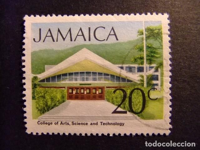 JAMAICA 1972 SERIE CORRIENTE YVERT N 363 FU (Sellos - Extranjero - América - Otros paises)