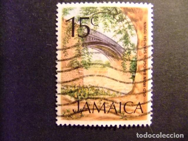 JAMAICA 1972 SERIE CORRIENTE YVERT N 362 FU (Sellos - Extranjero - América - Otros paises)