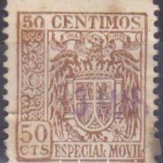 Sellos: SELLO FISCAL - ESPECIAL MOVIL - 50 CENTIMOS . Lote 91740510