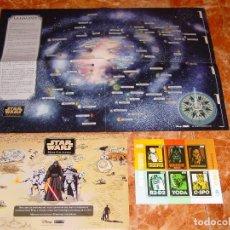 Sellos: PACK MAPA STAR WARS DE CORREOS: (SOBRE + MAPA + HOJA BLOQUE), EDICIÓN LIMITADA (500 UD.) Y AGOTADA. Lote 96038903